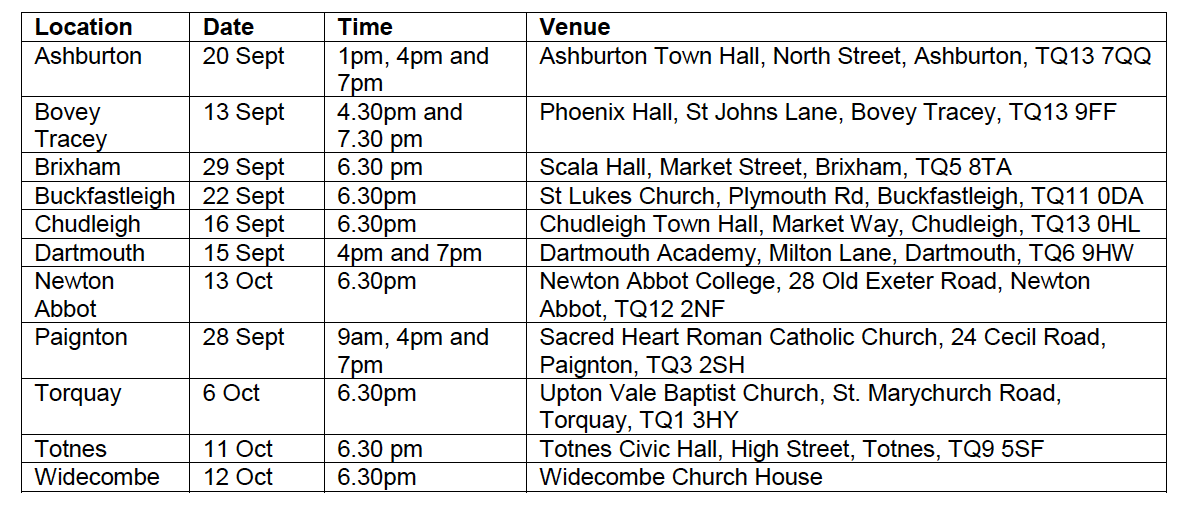 CCG Consultation Times